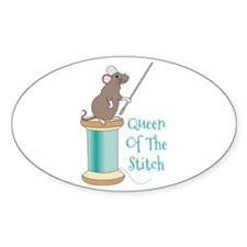 Queen of the Stitch Bumper Stickers