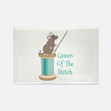 Queen of the Stitch Magnets