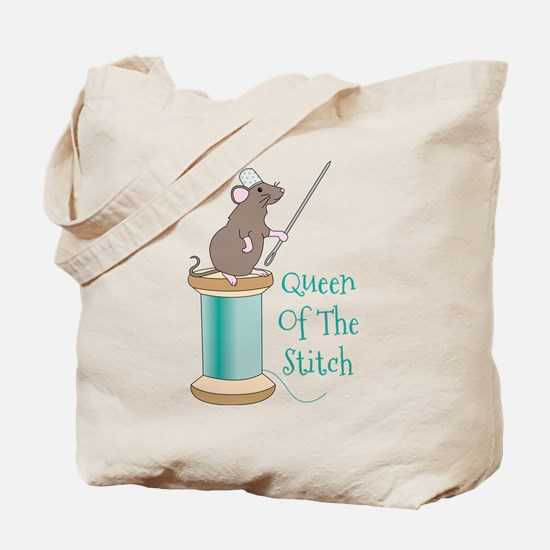 Queen of the Stitch Tote Bag