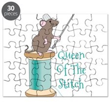 Queen of the Stitch Puzzle
