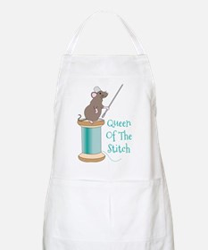 Queen of the Stitch Apron