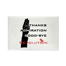 Hunger Games: Revolution Salute Magnets