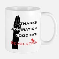 Hunger Games: Revolution Salute Mugs