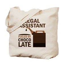 Legal Assistant Fueled By Chocolate Tote Bag