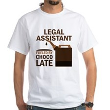 Legal Assistant Fueled By Chocolate Shirt