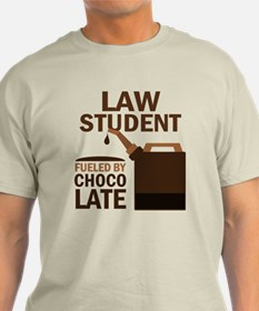 Law Student Chocolate T-Shirt