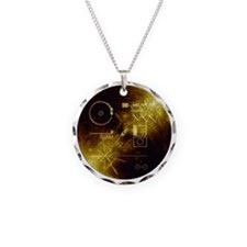 Voyager Golden Record Necklace