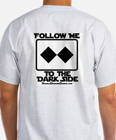 Dark Side Ash Grey T-Shirt