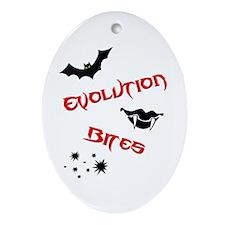 Evolution Bites Ornament (Oval)