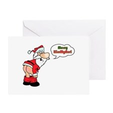 Merry KissMyAss Greeting Card