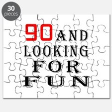 90 and looking for fun birthday designs Puzzle