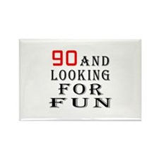 90 and looking for fun birthday designs Rectangle
