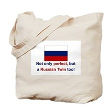Russian Twins(Perfect) Tote Bag
