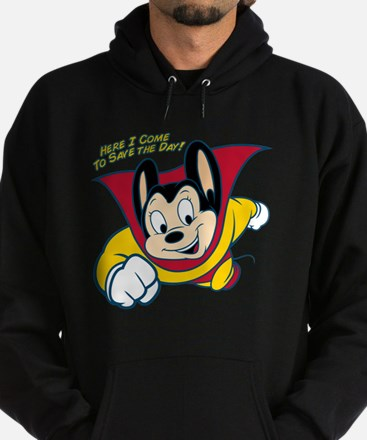 Officially licensed vintage Mighty M Hoodie (dark)