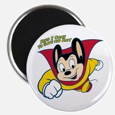 Officially licensed vintage Mighty Mouse, t Magnet
