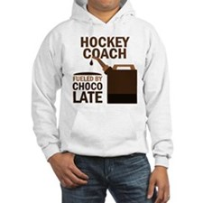 Hockey Coach Chocolate Hoodie