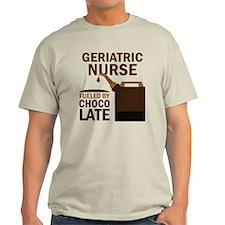 Geriatric Nurse Chocolate T-Shirt