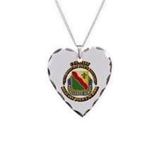 DUI - C Company - 787th MPB w Text Necklace