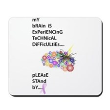 Tech Difficulties Mousepad