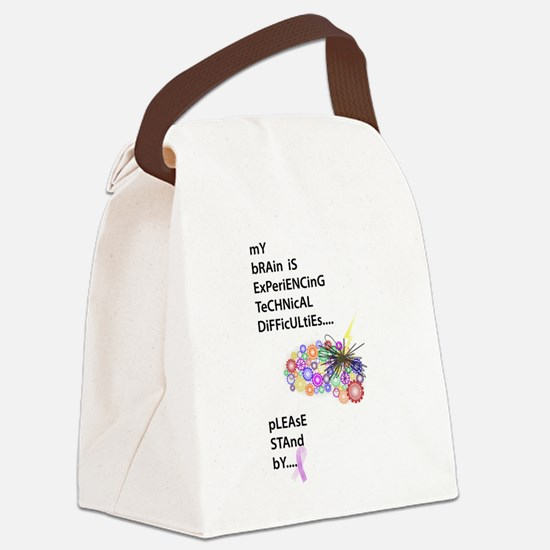 Tech Difficulties Canvas Lunch Bag