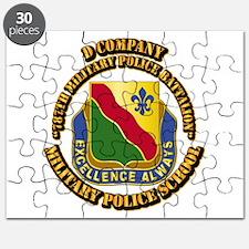 DUI - D Company - 787th MPB w Text Puzzle