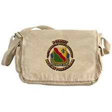 DUI - D Company - 787th MPB w Text Messenger Bag
