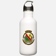 DUI - D Company - 787th MPB w Text Water Bottle
