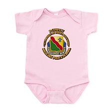 DUI - D Company - 787th MPB w Text Infant Bodysuit
