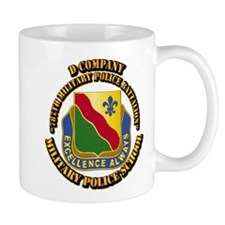 DUI - D Company - 787th MPB w Text Mug