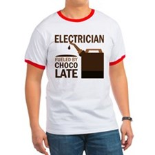 Electrician Fueled By Chocolate T