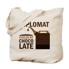 Diplomat Fueled By Chocolate Tote Bag