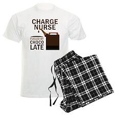 Charge Nurse Chocolate Pajamas