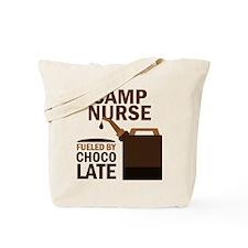 Camp Nurse Chocolate Tote Bag