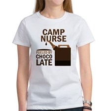 Camp Nurse Chocolate Tee