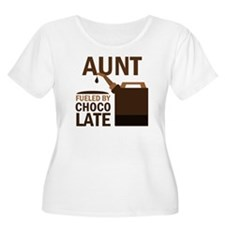 Aunt Fueled By Chocolate T-Shirt