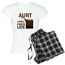 Aunt Fueled By Chocolate Pajamas