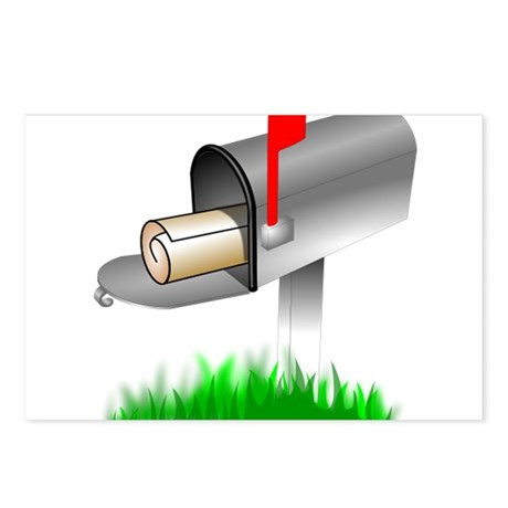 Mailbox Postcards (Package of 8)