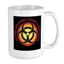 CENTER FOR ZOMBIE CONTROL and PREVENTION Mugs