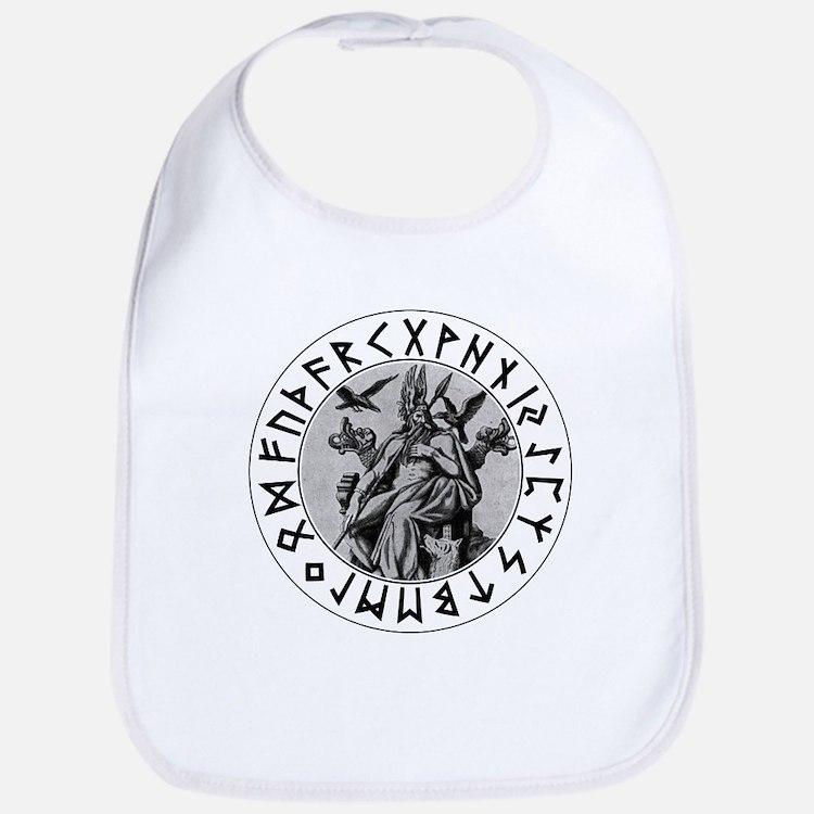 Odin Rune Shield Bib