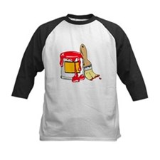 Paint Brush and Can Baseball Jersey