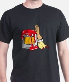 Paint Brush and Can T-Shirt
