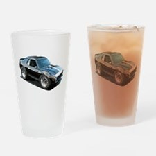 BabyAmericanMuscleCar_74Jav_Black Drinking Glass