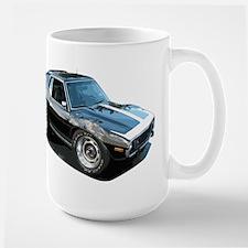 BabyAmericanMuscleCar_74Jav_Black Mugs