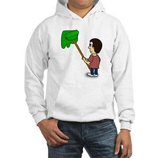 Man Painting a Wall Hoodie