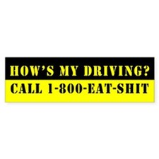 Who they gonna call? Bumper Bumper Sticker