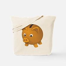 Piggy Bank Tote Bag