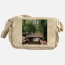 Asian garden, Messenger Bag