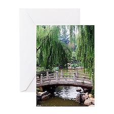 Asian garden, Greeting Cards