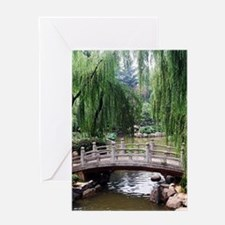 Asian garden, Greeting Cards