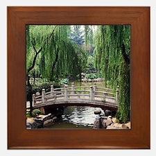 Asian garden, Framed Tile